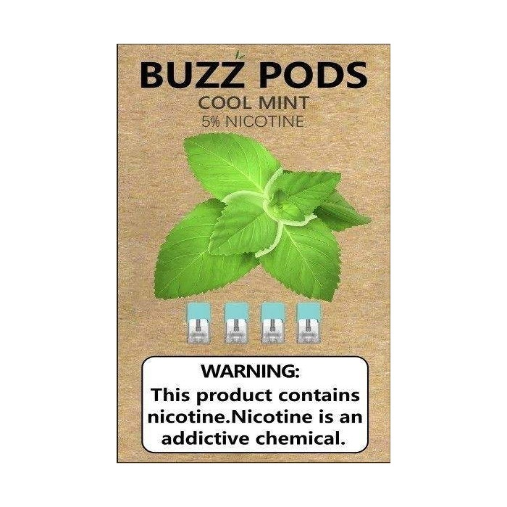 Buzz Pods - Mint Juul ( Compatible Pods )