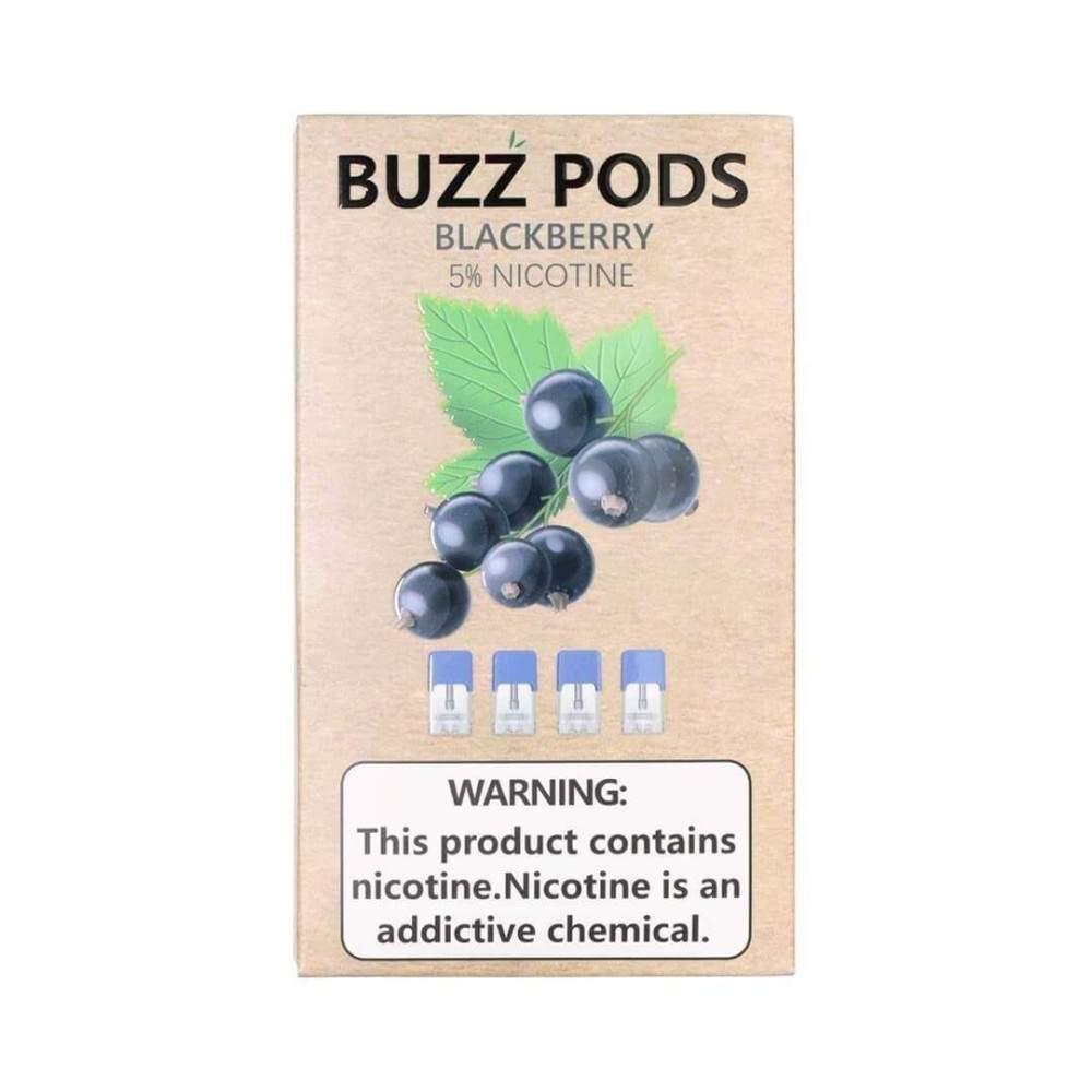 Buzz Pods - Blackberry Juul ( Compatible Pods )