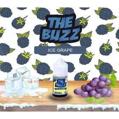 Buzz - Ice Grape 30ml saltnic